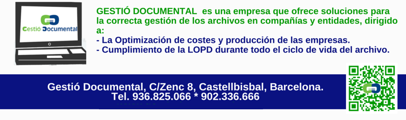 gestio documental destruccion de documentos