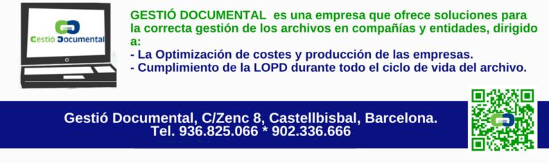 gestio documental destruccion de documentos