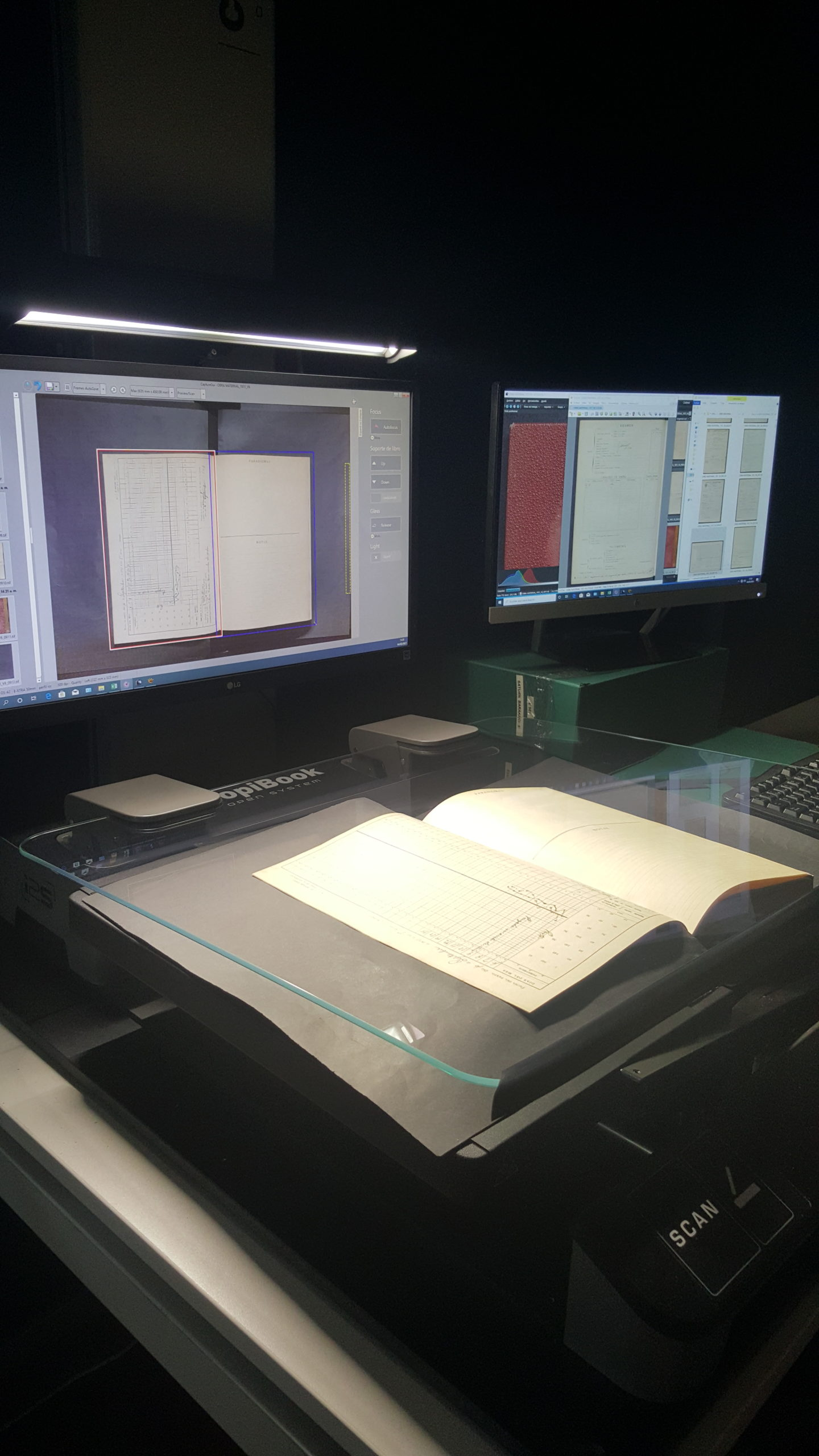 como digitalizar documentos históricos